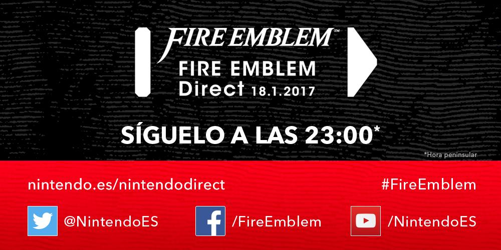 Evento sigue con nosotros en directo el fire emblem for Direct flame