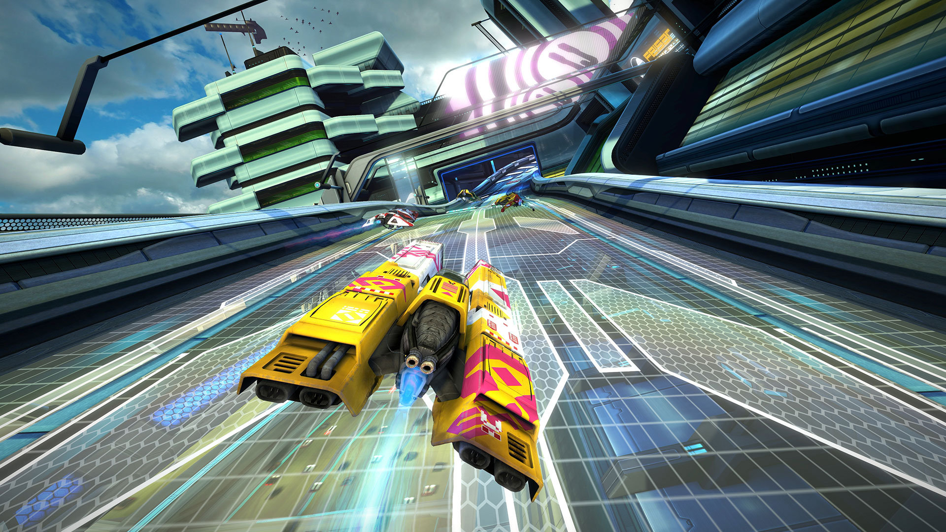 Circuito Wipeout : Análisis wipeout omega collection gaminguardian