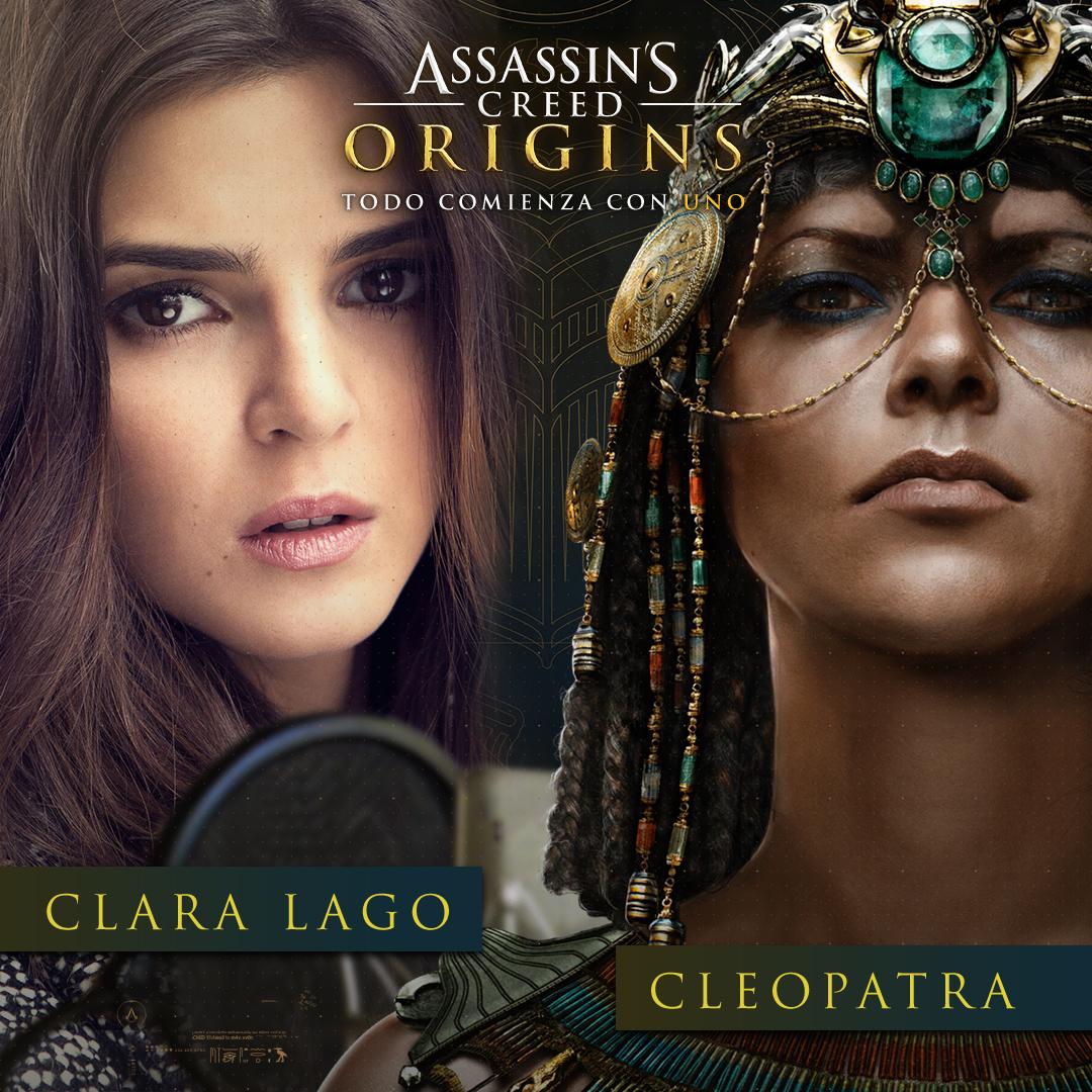 Clara Lago dobla a Cleopatra
