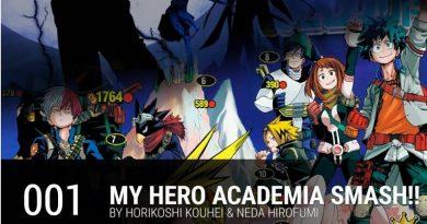 Boku no Hero Academia Smash.