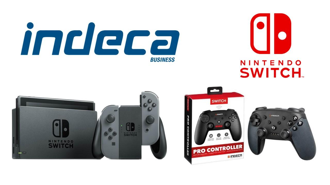 indeca switch  Indeca lanza al mercado dos mandos para Switch - GaminGuardian