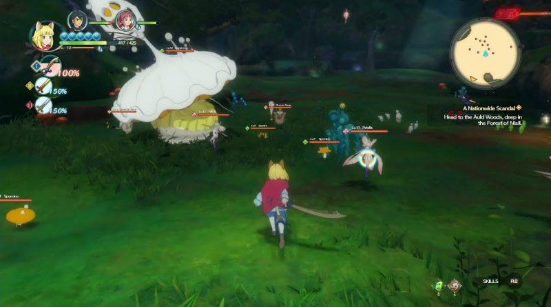 Ni no Kuni 2 Combat Gameplay