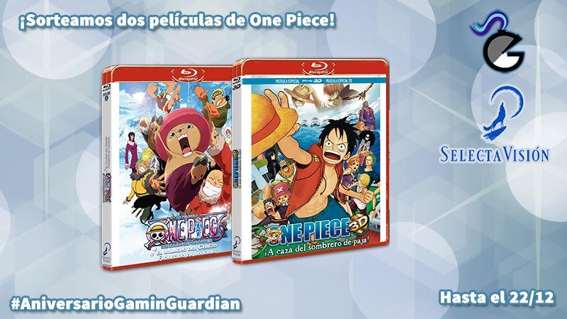 Sorteo Aniversario  Pack de películas en Blu-ray de  One Piece  -  GaminGuardian b10e8f7ce94