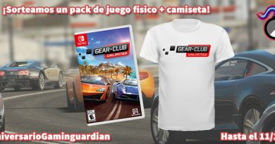 [Sorteo Aniversario] Pack de juego físico 'Gear.Club Unlimited' para Switch y camiseta