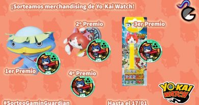 [Sorteo] Merchandising de Yo-Kai Watch