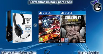 [Sorteo] Pack PS4: Auriculares Recon Chat + dos juegos digitales