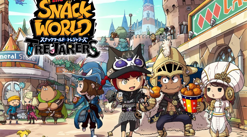 the snack world trejarers