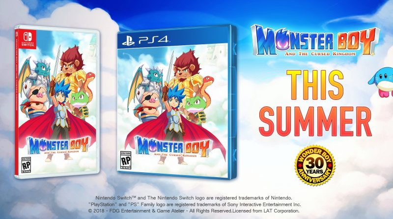 Monster Boy and the Cursed Kingdom 1
