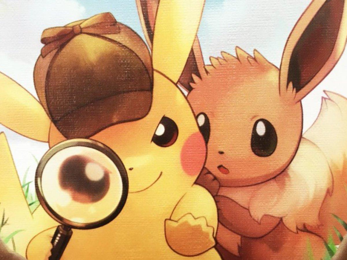Detective Pikachu: Eevee's Case