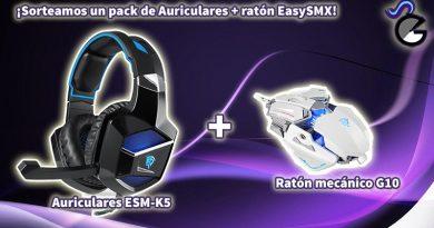 [Sorteo] Ratón mecánico y auriculares de EasySMX