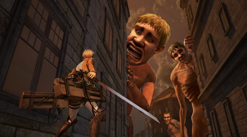Attack on Titan 2 opening