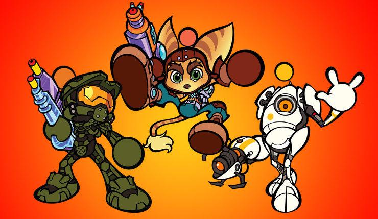 Super Bomberman R Characters Portada