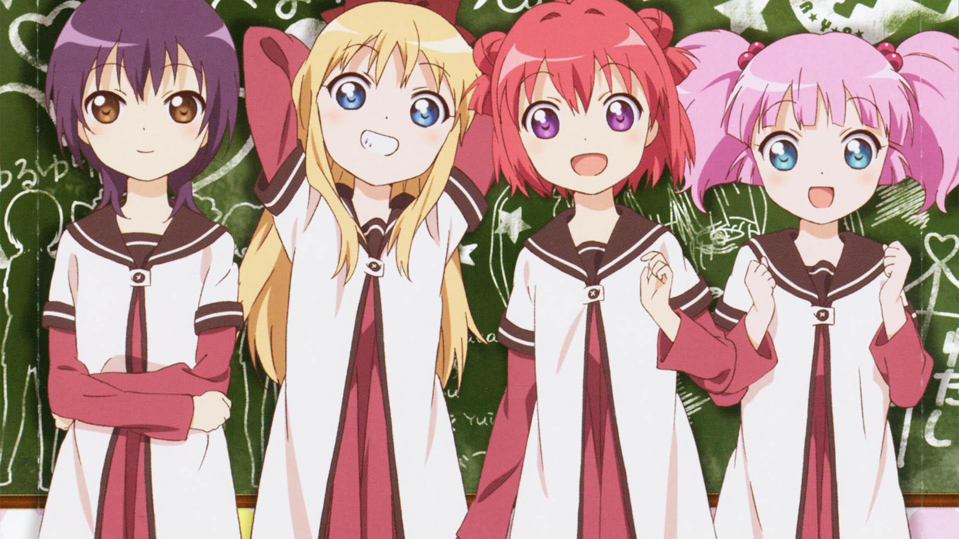 anime-estreno-octubre-2019/otoño-anime-2019/YURU YURI