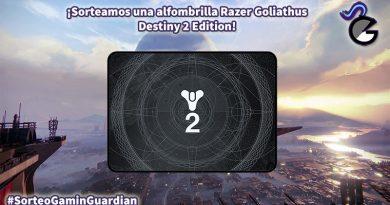 [Sorteo] Razer Goliathus Destiny 2 Edition