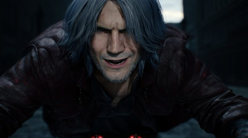 Devil May Cry 5 Dante Historia