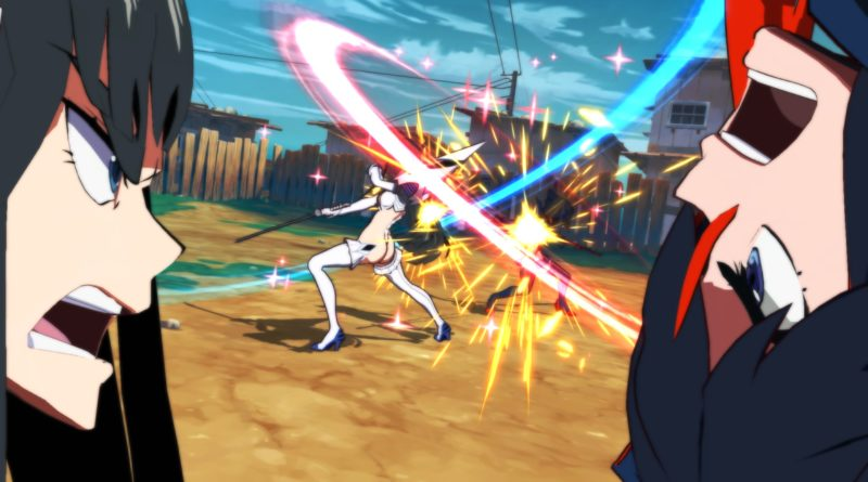 kill la kill the game if detalles portada