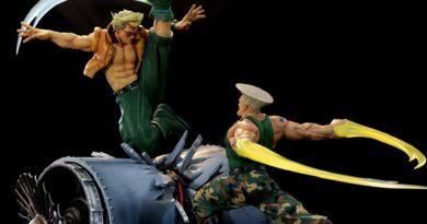 Nueva estatua de Guile y Nash de 'Street Fighter'