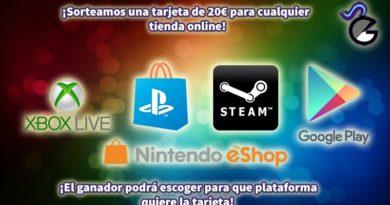 [Sorteo] 20€/$ en crédito para la tienda de juegos digitales que prefieras