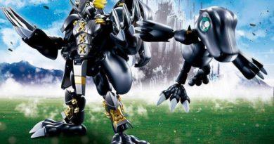Bandai nos trae una increíble figura de BlackWarGreymon de 'Digimon Adventure'