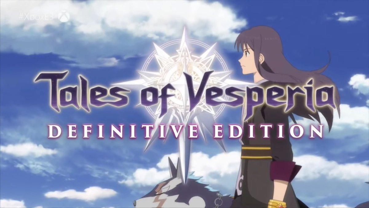 Tales of Vesperia Definitve Portada Goodies