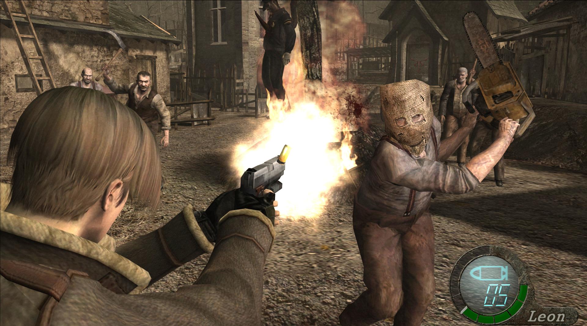 Resultado de imagen para RESIDENT EVIL 4 HD GAMEPLAY