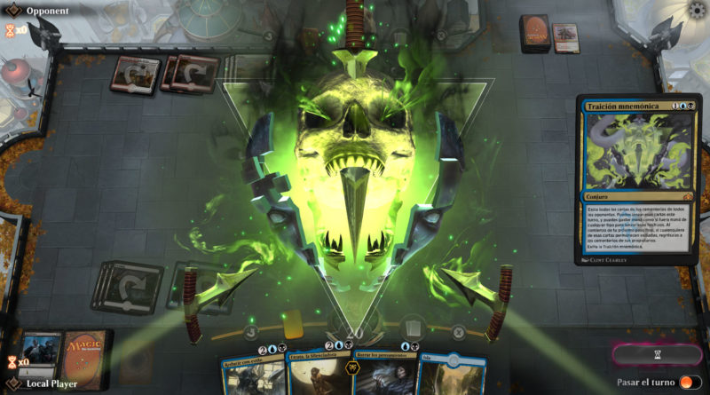 Magic: The Gathering Arena Portada 1v1