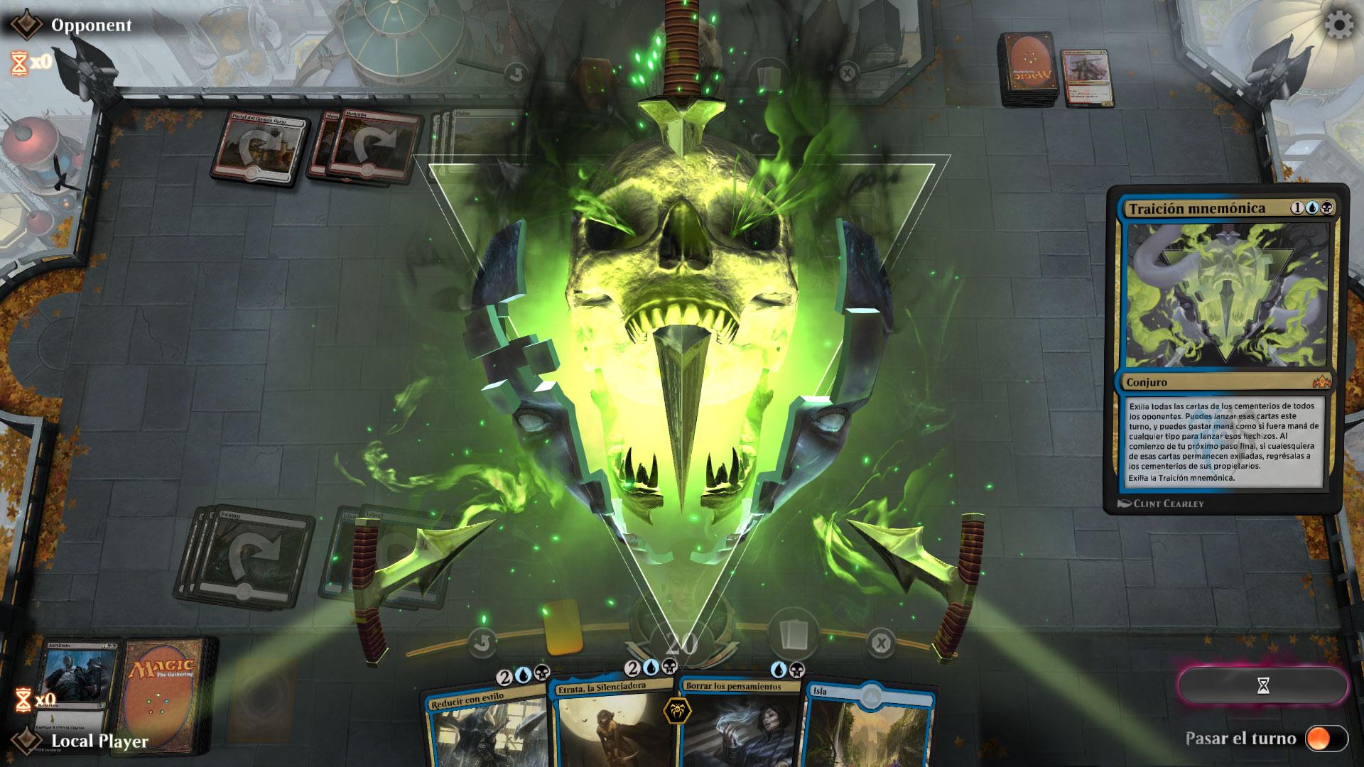 Magic: The Gathering Arena Portada 1v1