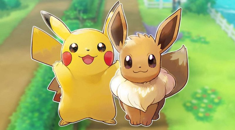 Pokémon Lets Go Pikachu Eevee Ventas