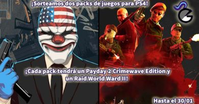 [Sorteo] Dos packs de 'PayDay 2 Crimewave Edition' + 'Raid: World War II' para PS4