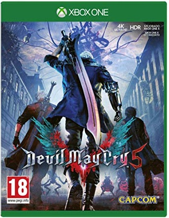 Devil May Cry 5 Cover Review