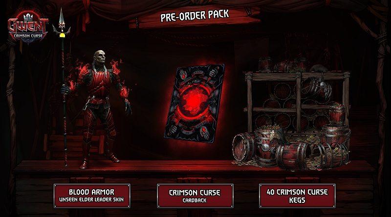 Gwent: Crimson Curse Reserva Tráiler