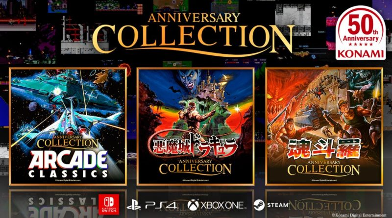 konami 50th anniversary collection