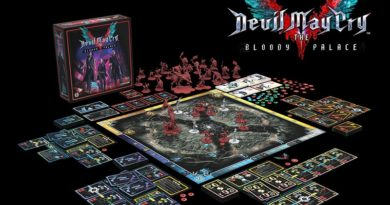 Devil May Cry 5 Board Game Portada