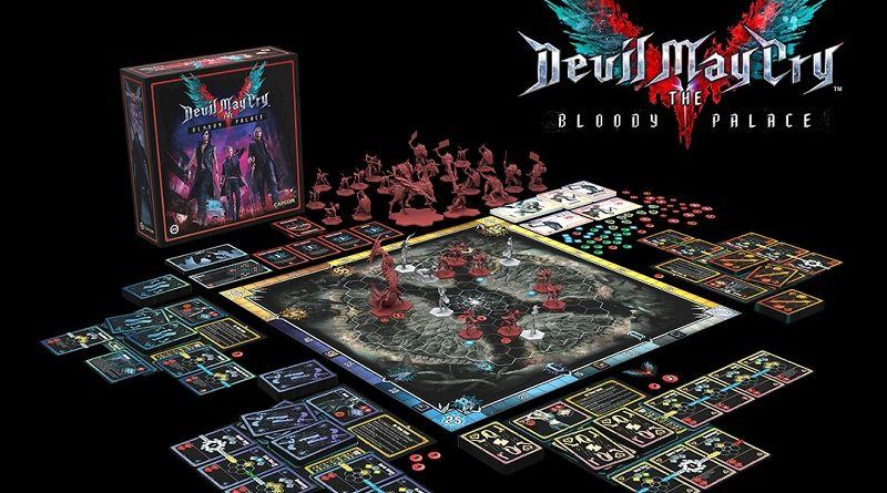 Devil May Cry 5 Board Game Portada
