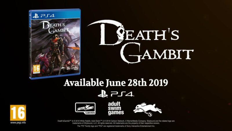 Death´s Gambit Portada Anuncio PS4