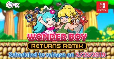 Wonder Boy Returns Remix Launch Date