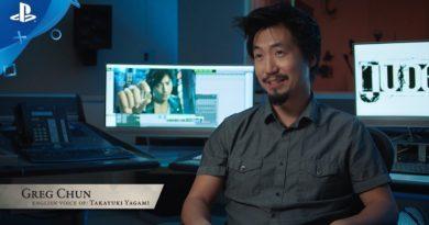 Greg Chun tráiler gameplay Judgment