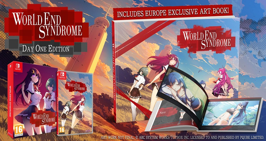 World End Syndrome Verano Libro Arte