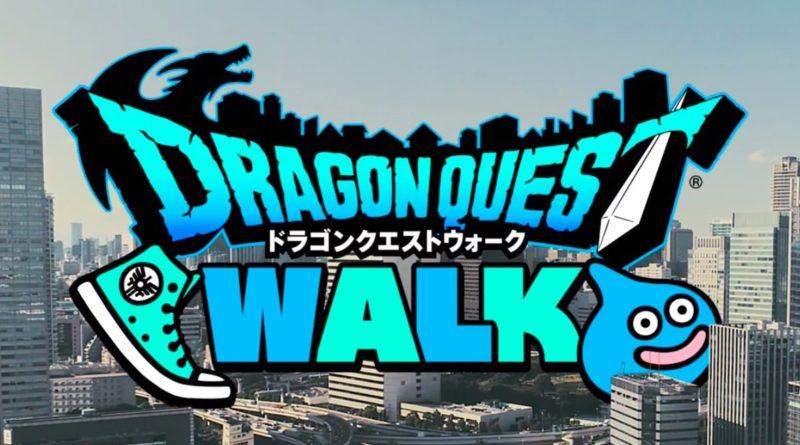 dragon quest walk anuncio