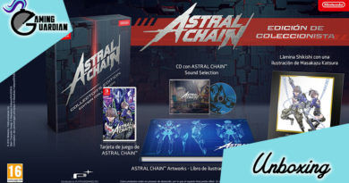 [Unboxing] Astral Chain Edición Limitada