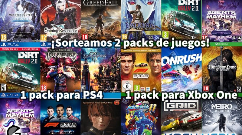 sorteo pack koch media