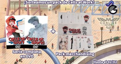 [Sorteo] Pack de Cells at Work!: serie completa + merchandising