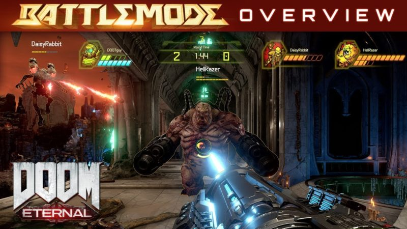 Battlemode Doom Eternal Portada