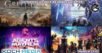 [Sorteo] Pack PS4: Kingdom Hearts III, GreedFall, Monster Hunter World: Iceborne Monster Edition y Agents of Mayhem