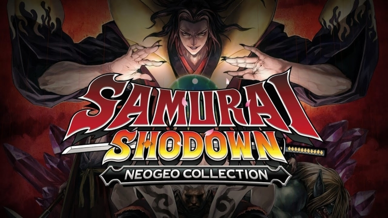 Samurai Shodown NeoGeo Collection junio portada