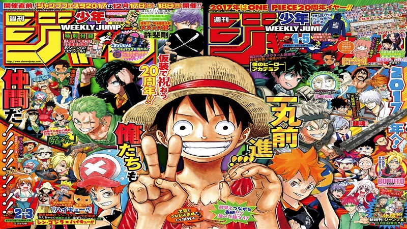 Weekly Shonen Jump Retrasos