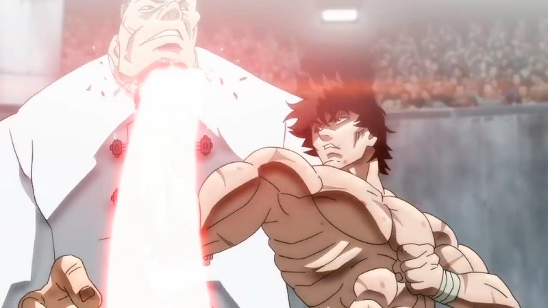 baki raikai tournament tráiler