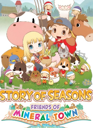 Análisis Story of Seasons Friends of Mineral Town Portada